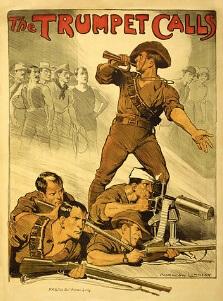 Australia, Norman Lindsey, The Trumpet Calls, 1914-18