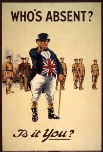 Britain, John Bull lithograph, 1915