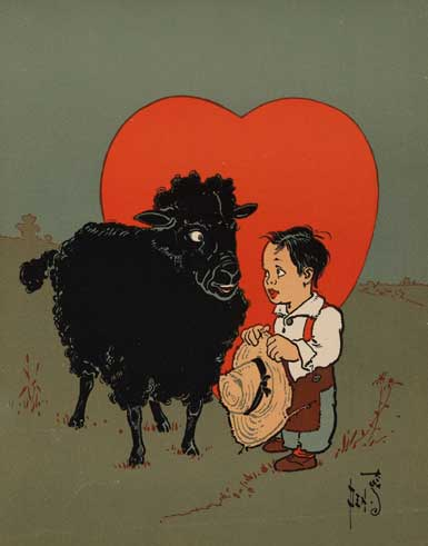 illustration for Baa Baa Black Sheep 2 Nursery Rhyme