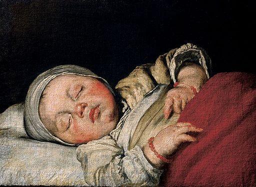 Lullabies Around the World: Bernardo Strozzi, Sleeping Child, 1607
