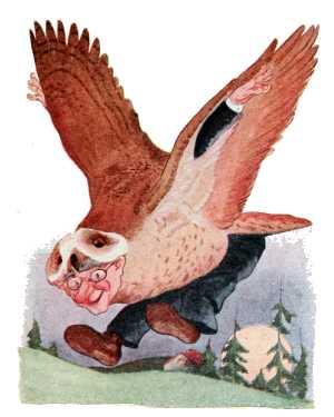 Elizabeth Gordon, Bird Children, barn owl