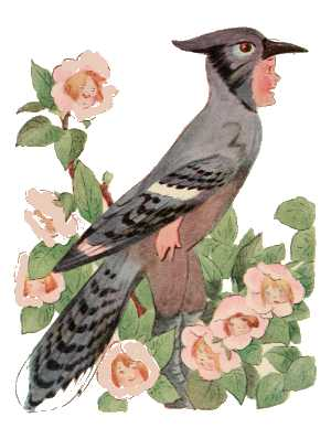 Elizabeth Gordon, Bird Children, blue jay