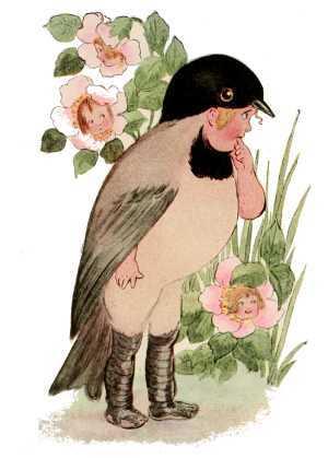Elizabeth Gordon, Bird Children, chickadee