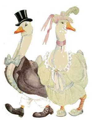 Elizabeth Gordon, Bird Children, goose