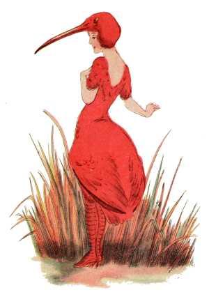 Elizabeth Gordon, Bird Children, ibis