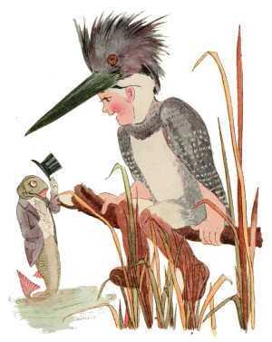 Elizabeth Gordon, Bird Children, king-fisher