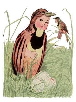 Elizabeth Gordon, Bird Children, meadow lark