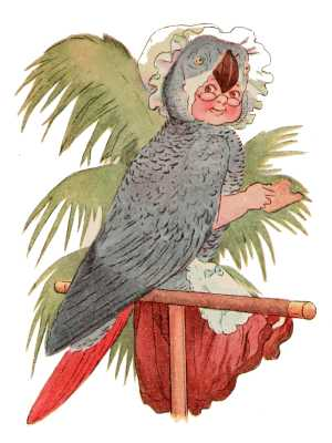 Elizabeth Gordon, Bird Children, parrot