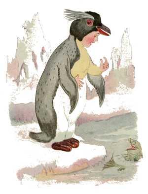 Elizabeth Gordon, Bird Children, penguin