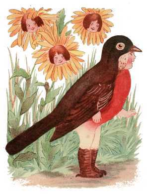 Elizabeth Gordon, Bird Children, robin