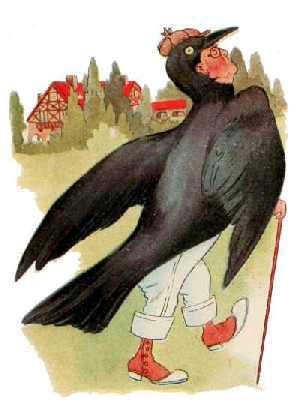 Elizabeth Gordon, Bird Children, rook