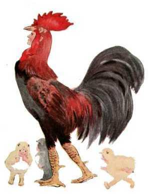Elizabeth Gordon, Bird Children, rooster