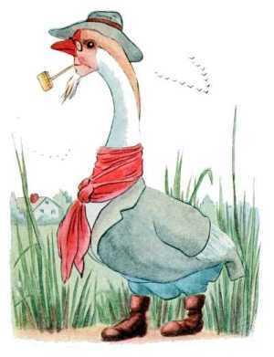 Elizabeth Gordon, Bird Children, snow goose