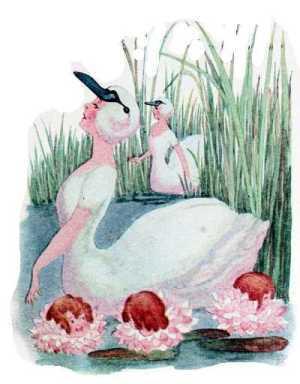 Elizabeth Gordon, Bird Children, swan
