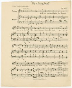 Whip-Poor-Will Lullaby sheet music