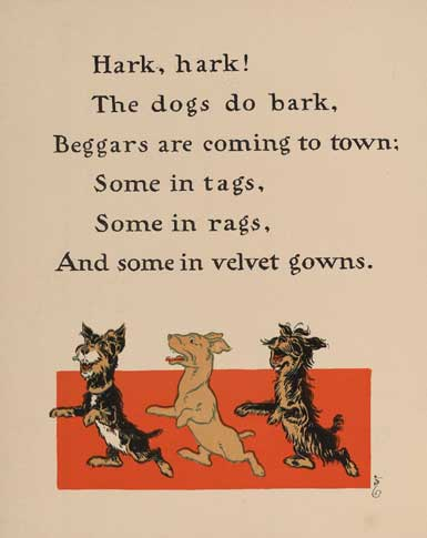 illustration for Hark, Hark, the Dogs Do Bark