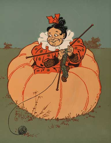 illustration for Peter, Peter, Pumpkin-Eater 2 Nursery Rhyme