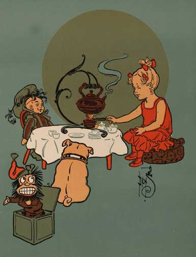 illustration for Polly Put the Kettle On