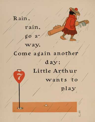 illustration for Rain, Rain, Go Away Nursery Rhyme