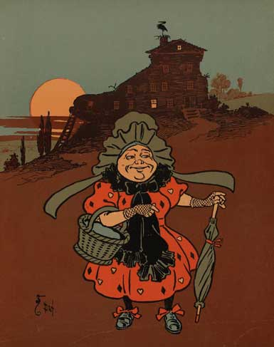 illustration for There Was an Old Woman Who Lived in a Shoe 2 Nursery Rhyme