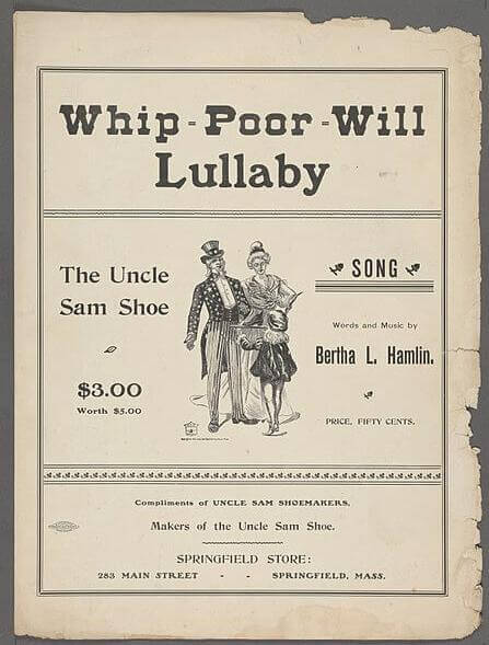 An illustration for the story Whip-Poor-Will Lullaby by the author Anonymous