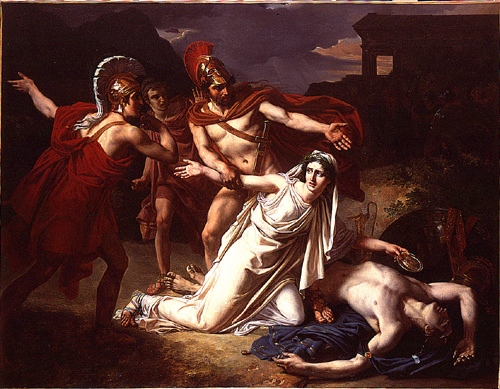 A picture for the play Antigone