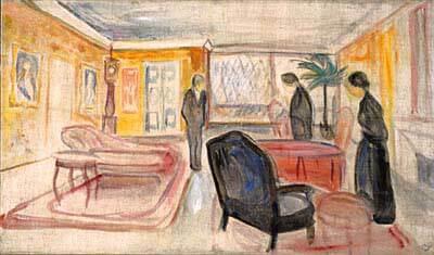 Edvard Munch, Ghosts stage design, 1906