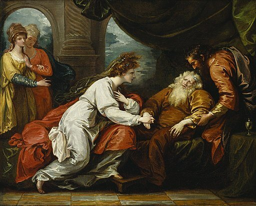 a literary analysis of the first act of the play king lear by william shakespeare King lear by william shakespeare  scene 3: summary and analysis king lear: quizzes ♦ act  theater scripts were not regarded as literary works of king lear.