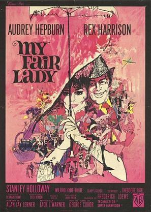 Bernard Shaw's Pygmalion adapted as My Fair Lady, 1964