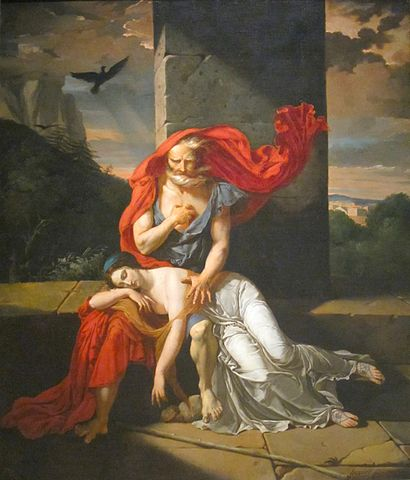 A picture for the play Oedipus at Colonus