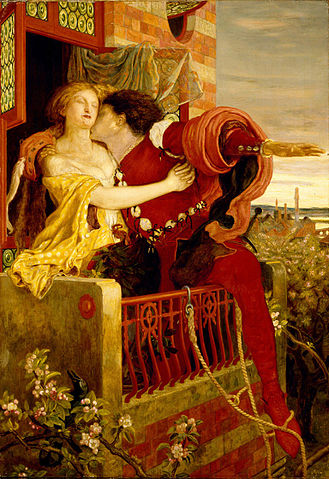 A picture for the play Romeo and Juliet