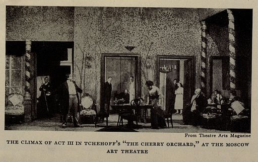 A picture for the play The Cherry Orchard
