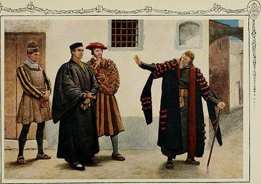 Dromgole, Shakespeare's The Merchant of Venice, 1914