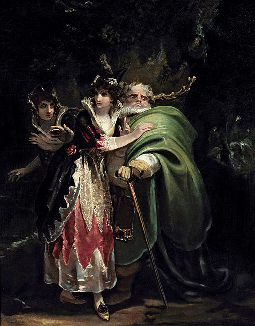 Johann Heinrich Füssli, Shakespeare's The Merry Wives of Windsor, 1850s