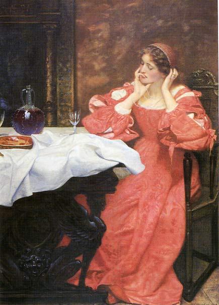 Edward Robert Hughes, Shakespeare's The Taming of the Shrew Katharina, 1898