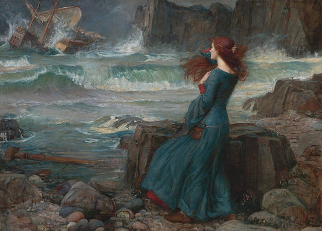 A picture for the play The Tempest