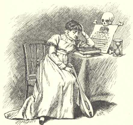 An illustration for the story A Valentine by the author Lewis Carroll