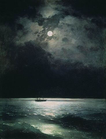 Annabel Lee: The Black Sea at Night