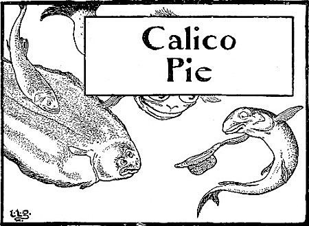 An illustration for the story Calico Pie by the author Edward Lear