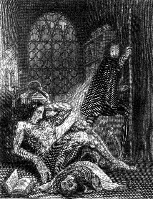 An illustration for the story Enigma by the author Thomas Moore