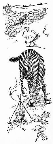 Grandmother's Alphabet, woodchuck, zebra