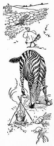 Grandmother's Alphabet, woodchuck, zebra