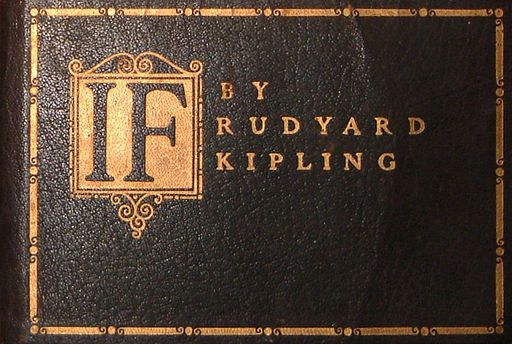 An illustration for the story If by the author Rudyard Kipling