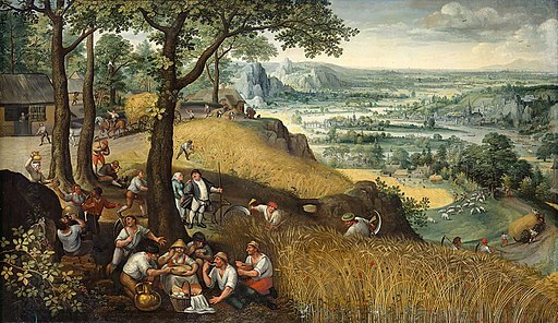 C.S. Lewis, Spirits in Bondage, In Praise of Solid People, Lucas van Valckenborch, Summer landscape, 1585