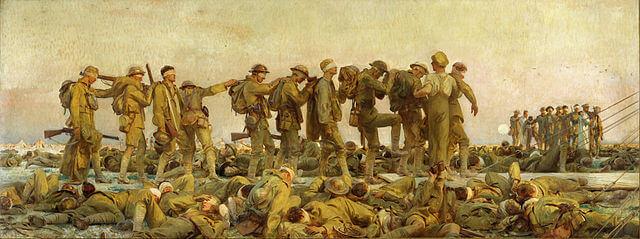 John Singer Sargent, Gassed, 1918