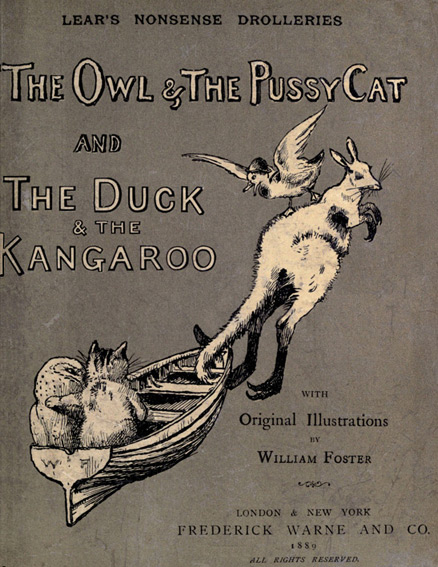 illustration for The Owl and the Pussy-Cat
