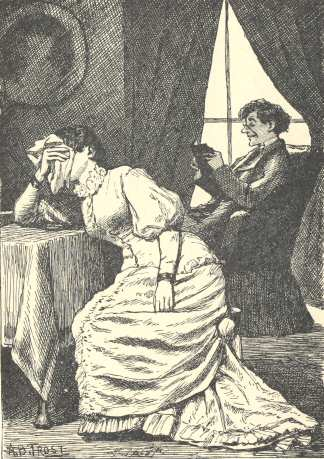 An illustration for the story Melancholetta by the author Lewis Carroll