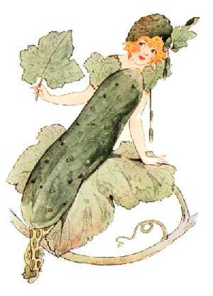 Mother Earth's Children,cucumber