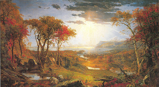 An illustration for the story Ode To Autumn by the author John Keats