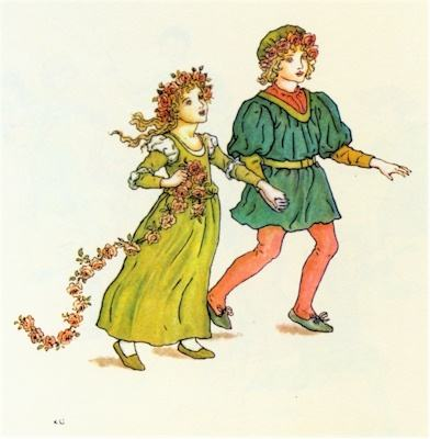 illustration for The Pied Piper of Hamelin 28